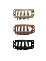 Hair Extension Clips - Medium / 12 Pack