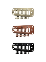 Hair Extension Clips - Large / 12 Pack