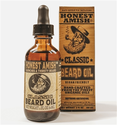 Honest Amish Classic Beard Oil 2oz