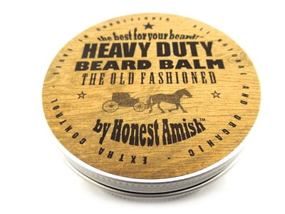 Honest Amish Heavy Duty Beard Balm Large 4 oz