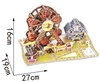 Halloween Ferris Wheel Magic-puzzle/ CubicFun B368-11 3D Puzzle 112 Pieces