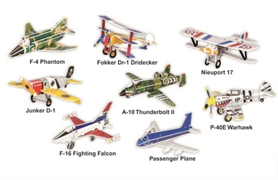 Plane Series Magic-puzzle/ CubicFun B368-21 3D Puzzle 180 Pieces