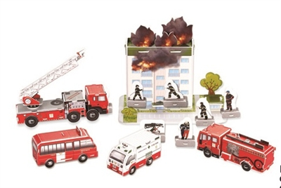 Fire Series Magic-puzzle/ CubicFun B368-22 3D Puzzle 119 Pieces