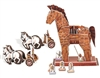 Trojan Horse Magic-puzzle/ CubicFun B368-23 3D Puzzle 97 Pieces