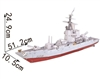 Super-Battleship Magic-puzzle/ CubicFun B468-1 3D Puzzle 120 Pieces