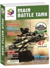 Main Battle Tank Magic-puzzle/ CubicFun B468-2 3D Puzzle 47 Pieces
