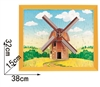 Windmill Magic-puzzle/ CubicFun B468-21 3D Puzzle 97 Pieces