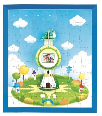 Frame Column Magic-puzzle/ CubicFun B468-23 3D Puzzle 114 Pieces