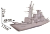 Defend  Battleship Magic-puzzle/ CubicFun B468-5 3D Puzzle 109 Pieces