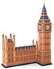 Hardcover Big Ben In London Magic-puzzle/ CubicFun B568-1 3D Puzzle 190 Pieces