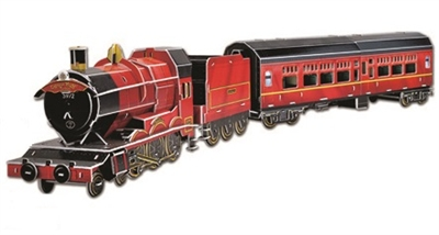 Express Magic Train Magic-puzzle/ CubicFun B568-12 3D Puzzle 201 Pieces