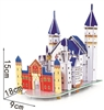 New Swan Lake Castle Magic-puzzle/ CubicFun B668-17 3D Puzzle 31 Pieces