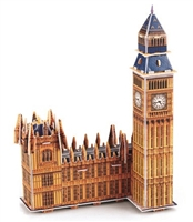 Big Ben Magic-puzzle/ CubicFun B668-19 3D Puzzle 34 Pieces