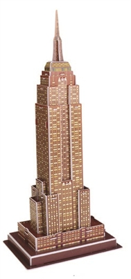 Empire State Building Magic-puzzle/ CubicFun B668-3 3D Puzzle 24 Pieces