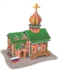 Russia'S Little Castle Magic-puzzle/ CubicFun B668-63 3D Puzzle 30 Pieces