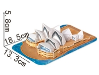 Sydney Opera House Magic-puzzle/ CubicFun B668-8 3D Puzzle 30 Pieces