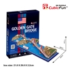 Golden Gate Bridge CubicFun C078h 3D Puzzle 20 Pieces