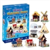 World Traditional House CubicFun C100h 3D Puzzle 82 Pieces