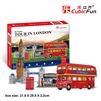 Tour In London CubicFun C146h 3D Puzzle 120(8P) Pieces