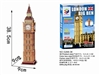 London Big This Clock Magic-puzzle/ CubicFun G268-36 3D Puzzle 30 Pieces