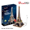 Eiffel Tower CubicFun L091h 3D Puzzle 85 Pieces