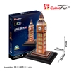 Big Ben (U.K.) CubicFun L501h 3D Puzzle 28 Pieces