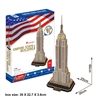 Empire State Building CubicFun MC048h 3D Puzzle 55 Pieces
