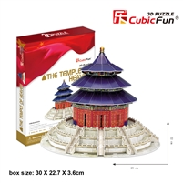 Temple Of Heaven CubicFun MC072h 3D Puzzle 115 Pieces