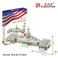 Capitol CubicFun MC074h 3D Puzzle 132 Pieces
