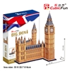 Big Ben(Uk) CubicFun MC087h 3D Puzzle 116 Pieces