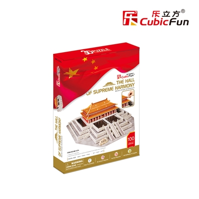 3D Puzzle The hall of supreme Harmony CubicFun MC127h 100 Pieces