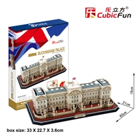Buckingham Palace CubicFun MC162h 3D Puzzle 72 Pieces