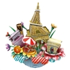 Paris CubicFun OC3204 3D Puzzle 55 Pieces