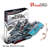 Kiev Aircraft Carrier CubicFun P602h 3D Puzzle 103 Pieces