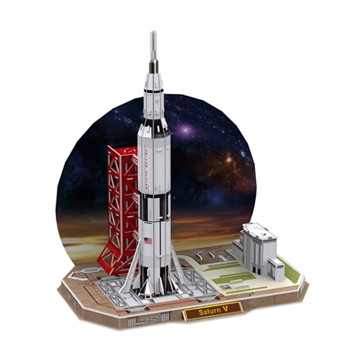 Saturn V CubicFun P653h 3D Puzzle 68 Pieces