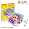 Honey Room-Bedroom CubicFun P659h 3D Puzzle 58 Pieces