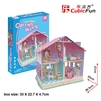 Deram Dollhouse-Carrie'S Home CubicFun P679h 3D Puzzle 93 Pieces