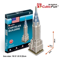 Chrysler Building CubicFun S3013h 3D Puzzle 22 Pieces