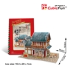Linglong Steamed Stuffed Bum Shop CubicFun W3132h 3D Puzzle