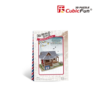 3D Puzzle Traditional Residence