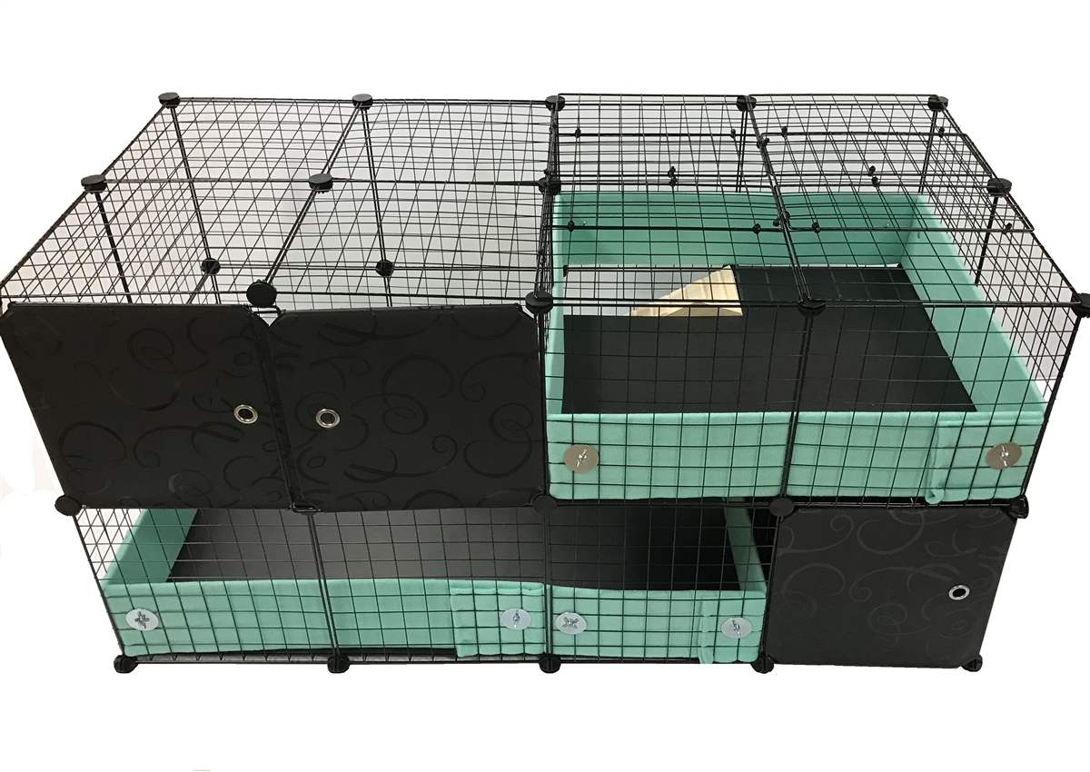 Guinea pig and hedgehog cageguard style cage home modified for Guinea pig cage for 3