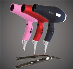 New 3800 Blow Dryer + 2300 Titanium-Ionic Flat Iron