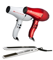 4800 Blow Dryer + 2200 Titanium-Ionic Flat Iron