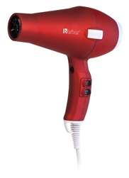 BARBAR Pro Italy 3800 Ionic Charger Blow Dryer Red