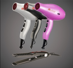 9800 Ionic Blow Dryer  + 2300 Titanium-Ionic Flat Iron