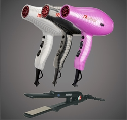 9800 Ionic Blow Dryer  + 1300 Titanium-Ionic Flat Iron