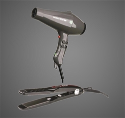 ECO 8000 Blow Dryer + 2300 Titanium-Ionic Flat Iron