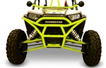 Dragonfire Racing RacePace Front Bash Bumper | Black |  Red | Blue | Manta Green | Octane Blue | Orange | Lime Squeeze | Arctic Cat Wildcat | Polaris Sportsman Ace | RZR | RZR 4 | Can-Am Maverick | Wildcat X | Maverick Max | Adrenaline Junkee | AJ