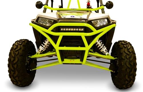 Dragonfire Racing UTV Rock Solid Front Bumper Black Wildcat Trail//Sport