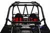 "Dragonfire Racing RacePace Flying V Bar | Can Am Maverick 1000 | Maverick Max | 1000 | Commander 800 | Yamaha YXZ 1000R | Polaris RZR | RZR XP | RZR 4 | RZR S | Protection | Red | Black | Manta Green | Octane Blue |  Strong 1.5"" Steel Construction"